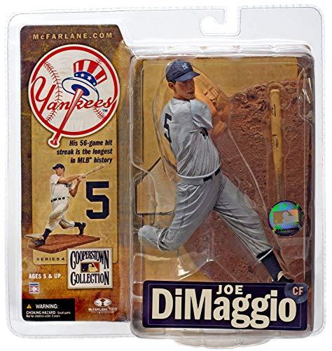 McFarlane Toys MLB New York Yankees Cooperstown Collection Series 4 Joe DiMaggio Action Figure [Gray Uniform]