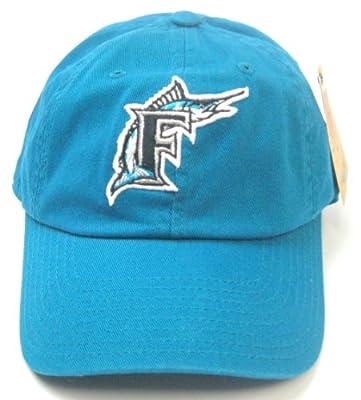 Miami Florida Marlins MLB Baseball Cap One Size American Needle Cotton Twill Teal