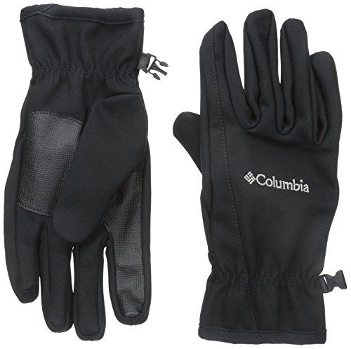 Columbia Women's with Kruser Ridge Soft Shell Glove, Black, X-Large
