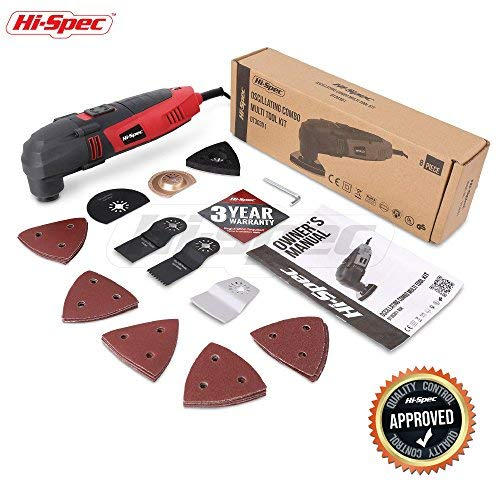 Hi Spec 220w Power Oscillating Multi Tool With Variable