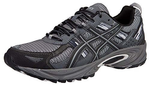 ASICS Men's GEL-Venture 5 Running Shoe (13 D(M) US, Silver/Onyx/Black)