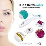 #9: 9Oine Medical Grade Skin Care Tools 0.5mm/1mm/1.5mm - Titanium,Derma Advance Kit