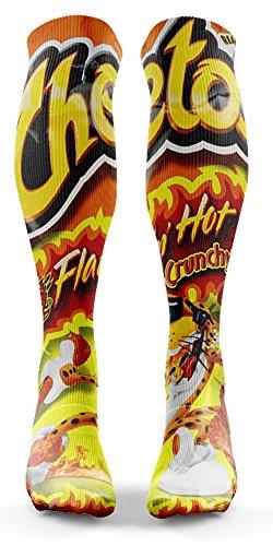 Flammin Hot Cheetos Socks ()
