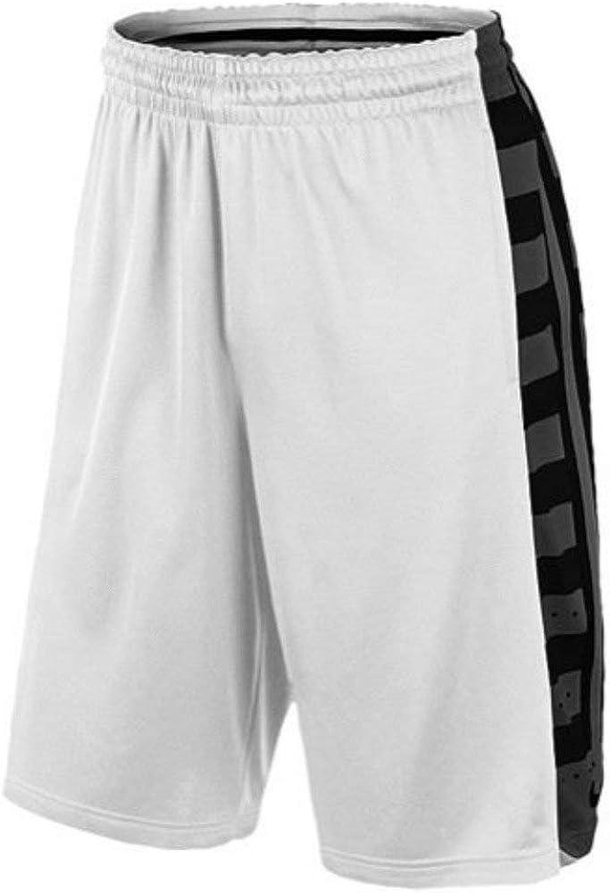 NikeメンズElite Fanatical Dri Fitバスケットボールショーツホワイト/ブラック  XL
