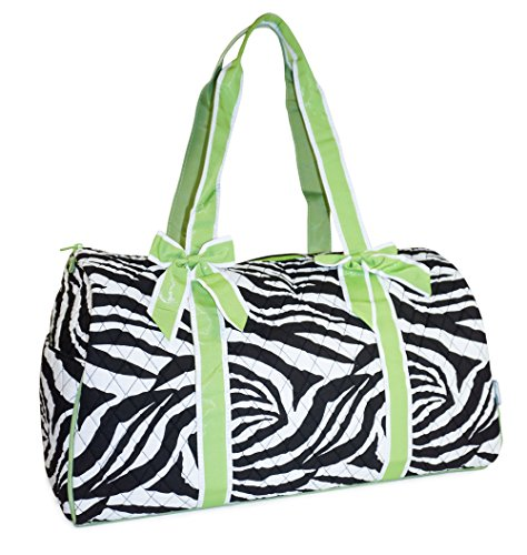 Animal Print Duffle Bag - 4