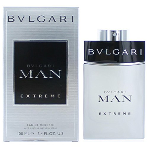 Bvlgari Man Extreme Eau De Toilette Spray for Men, 3.4 Ounce (Balsa Wood Wholesale)
