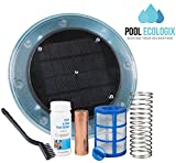 Pool Ecologix Solar Pool Ionizer | Floating Cleaner and Purifier with Copper Anode