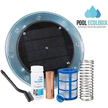 Amazon Com Pool Ecologix Solar Pool Ionizer Floating