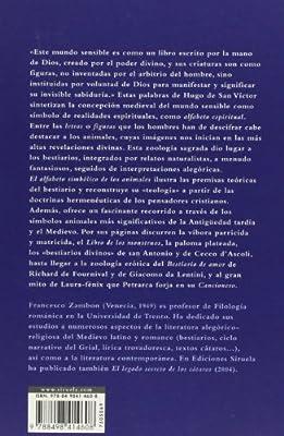El alfabeto simbólico de los animales: Los bestiarios de la Edad Media: 69 El Árbol del Paraíso: Amazon.es: Zambon, Francesco, Aguilá Ruzola, Helena: Libros