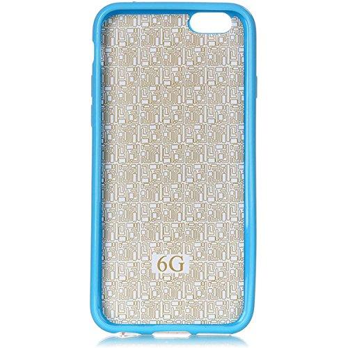 Motif de mode Sourire Creative Back Protector Holder Case For iPhone 6 / 6s plus