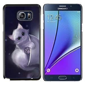 Queen Pattern - FOR Samsung Note 5 N9200 N920 - cute drawing kitten pet sweet furry - Cubierta del caso de impacto con el patr???¡¯???€????€????