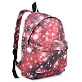 Miss Lulu Large Canvas Daypack Backpack for School, Office and Everyday