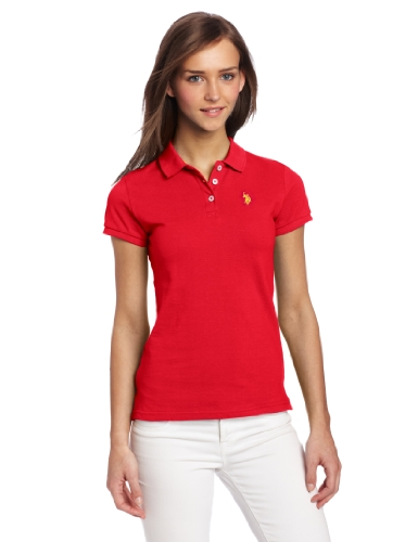 U.S. Polo Assn. Juniors Solid Polo With Small Pony