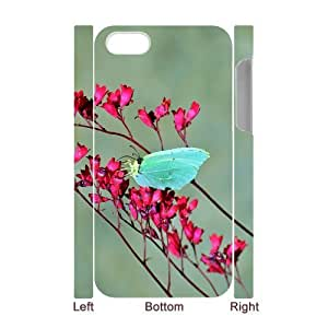Butterfly Custom 3D Case for Iphone 4,4S, 3D Personalized Butterfly Case