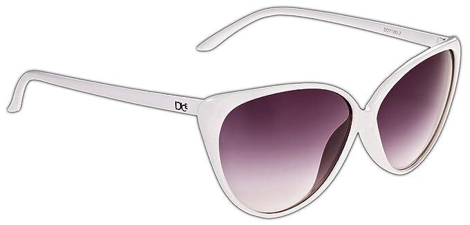 Dice Damen Sonnenbrille, Shiny Black/Dark Grey, One size, D07180-1