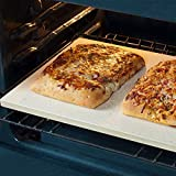 "Pizzacraft PC9899 Rectangular ThermaBond Baking and Pizza Stone for Oven or Grill, 20"" x"