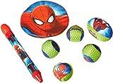 Spiderman 7 Piece Splash and Blast Kids Backpack for Beach, Water, Summer Swimming Fun