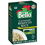 Riso Bello - Carnaroli Risotto Rice, Gluten Free - 17.5 oz (Pack of 12)