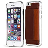iPhone 6S Case, Aceabove [KICKSTAND][Dark Brown] Slim Protective Leather Wallet Cover Case with Stand Feature and Credit Card wallet case for Apple iPhone 6 (2014) / iPhone 6S (2015)