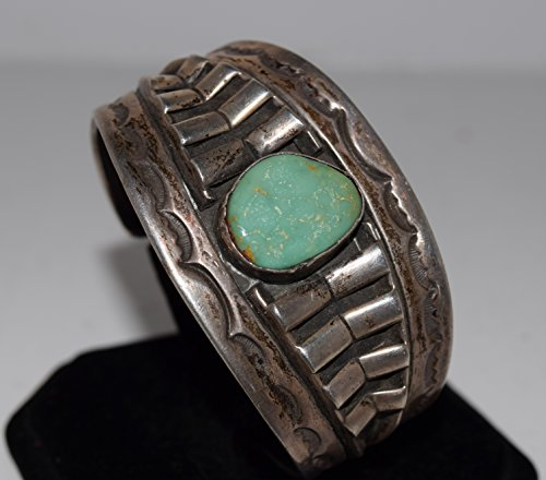 Old Pawn Bracelet with Genuine (Old Pawn Turquoise)