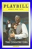 The Country Girl, Broadway Playbill + Morgan Freeman, Peter Gallagher, Frances McDormand, Anna Camp, Joe Roland, Remy Auberjonois, Lucas Caleb Rooney, Chip Zien