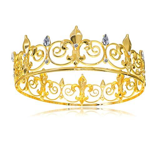 Round King Crown Cake