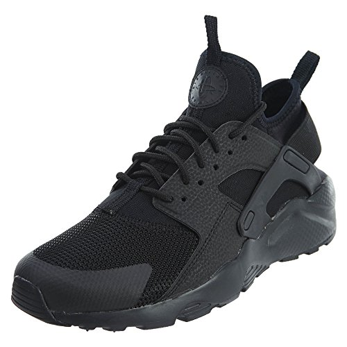 NIKE Kids Air Huarache Run Ultra GS Black/Black Running Shoe 7 Kids US by NIKE
