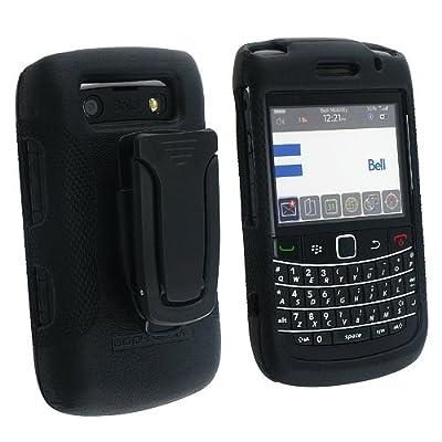Body Glove Blackberry 9700 Elements BLACK Case With Kickstand Clip by Body Glove