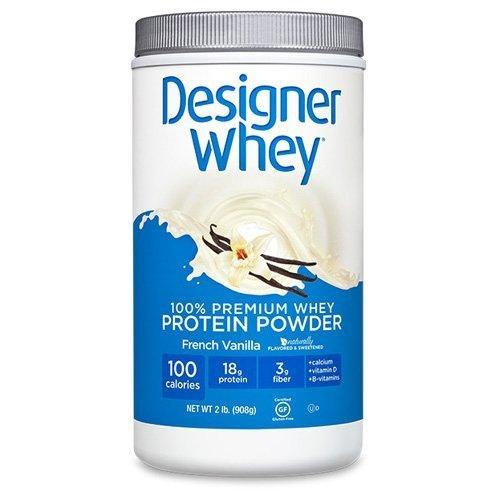 Designer Whey 100% Premium Protein, French Vanilla 2 lb