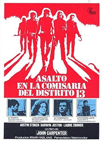 Rape on Precinct 13 Poster Movie Spanish 11 x 17 Inches - 28cm x 44cm Austin Stoker Darwin Joston Martin West Tony Burton Nancy Loomis Kim Richards Henry (Kleinbach) Brandon