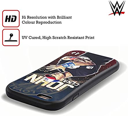 Amazon Com Head Case Designs Officially Licensed Wwe John Cena Superstars Hybrid Case Compatible With Apple Iphone 7 Iphone 8 Iphone Se 2020