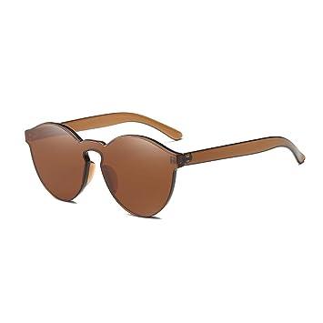 Correas Accesorios para mochilas iShinê Moda Mujer Ojo de Gato Sombras Gafas de Sol de Lujo Gafas integradas Color Caramelo UV400