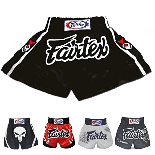 Fairtex Muay Thai Boxing Shorts (Red Eagle Rank BS0621,3L) Twins Muay Thai Boxing Shorts