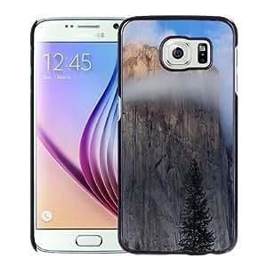 NEW Unique Custom Designed Samsung Galaxy S6 Phone Case With Mac OSX Yosemite Cliff_Black Phone Case