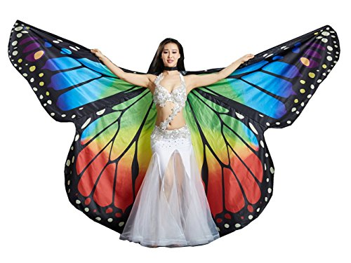 Dance Fairy Belly Dance Rainbow Butterfly Angel Isis Wings