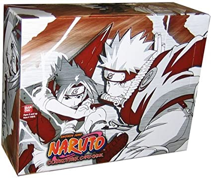 Naruto Shippuden The Chosen Booster Box LOT Of 24 Packs For Card Game TCG