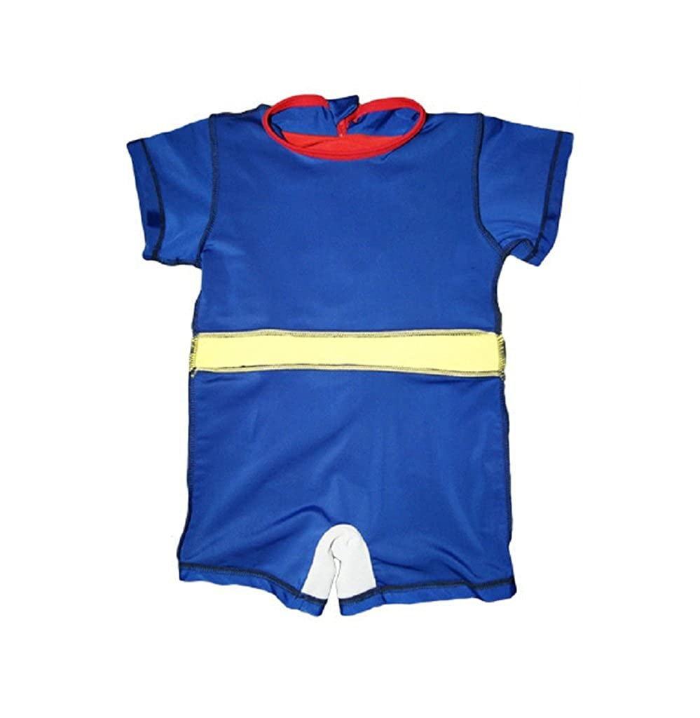 81f696704c Baby Boys Hot Superman One Piece UV Protection Swimsuit With Hat and Cloak  blue-XXL(3/4Y): Amazon.ca: Clothing & Accessories