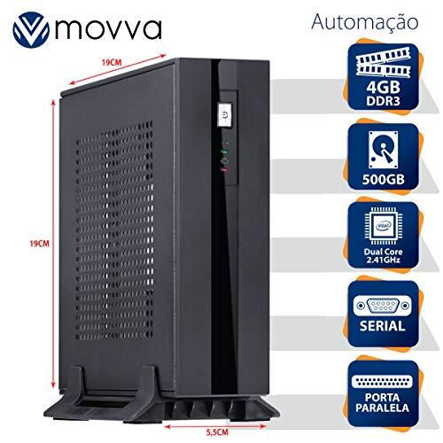 MINI COMPUTADOR LITE INTEL DUAL CORE J1800 2.41GHZ MEM. 4GB HD 500GB 1X PARALELA 1X SERIAL FONTE EXTERNA 60W LINUX - MOVVA