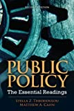 img - for Public Policy: The Essential Readings by Stella Z. Theodoulou (2012-03-07) book / textbook / text book