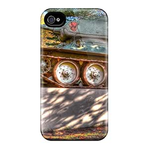 Perfect A Russian T-34 Tanks As A Monument Hdr Case Cover Skin For Iphone 4/4s Phone Case