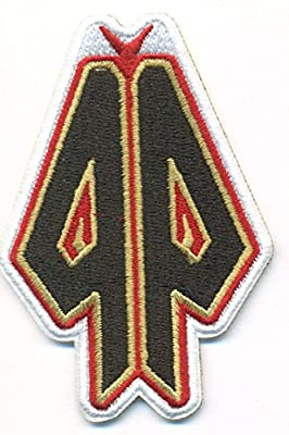 "Arizona Diamondbacks Logo Baseball MLB Embroidered Iron On Patches Hat Jersey 3 1/2 x3"""