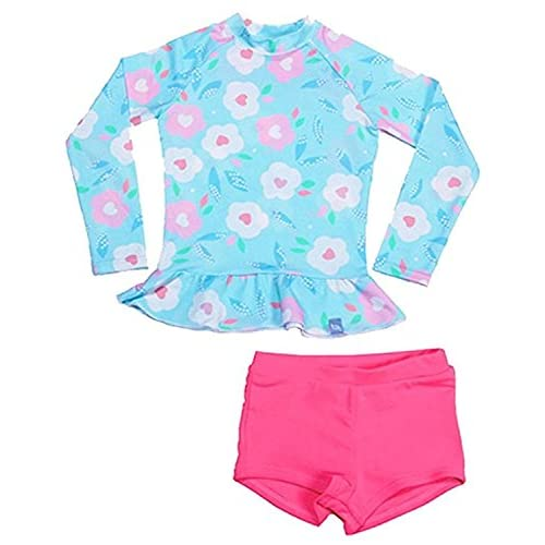 Two Pieces Baby Swimsuit Set Swimwear for Kid Girl Toddler Swimsuit UPF 50