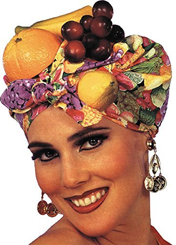 UHC Adult Women's Latin Lady Carmen Miranda Headpiece Hat Costume Accessory -
