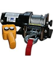 Jws - Cabrestante eléctrico 12v 2000 liberas [importado de alemania]