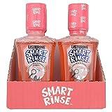 6 x Listerine Smart Rinse For Kids 6+ Mild Berry 250ml by Listerine
