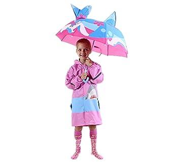 Amazon.com: Sombrilla desplegable Transser para niñas y ...