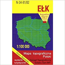 Elk Region Map Unknown 9788371352317 Amazon Com Books