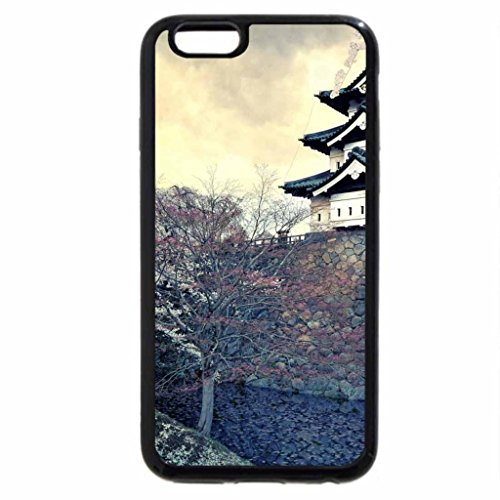 iPhone 6S / iPhone 6 Case (Black) Nagoya Castle
