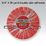"Red 3/4"" x 36 Yard Roll Toupee Tape"