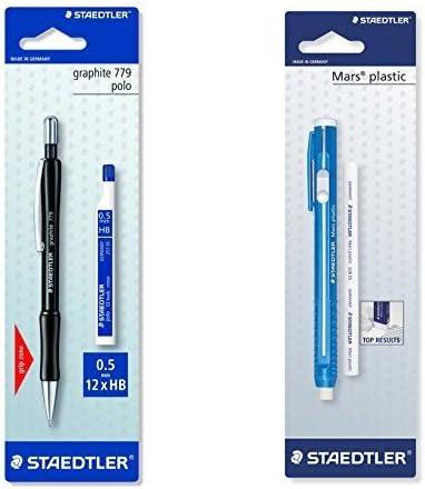 Staedtler - Pack portaminas Graphite 779 + Portagomas con recarga: Amazon.es: Oficina y papelería